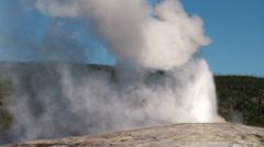 Yellowstone National Park Old Faithful National Park 06-27-2013 - stock footage
