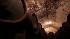 Vine Cellar Stock Footage