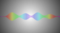 vignette digital spectrum - stock footage