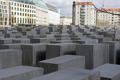 jew monument berlin - stock photo