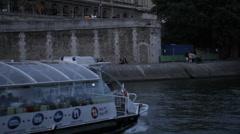 36 QUAI DES ORFEVRES - PARIS BUILDING # 3 Stock Footage