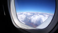 Stock Video Footage of Airline Window 10 HD