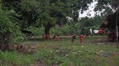 Brazilian Tribe Stock Footage