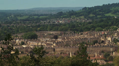 City of bath Stock Footage
