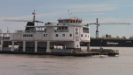 Stock Video Footage of Canal Street - Algiers Ferry in New Orleans