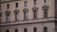 36 QUAI DES ORFEVRES - PARIS BUILDING # 5 Stock Footage