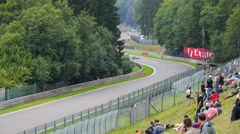 Spa Belgian Grand Prix 2013 Stock Footage