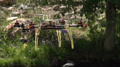 Hexa-copter HD Stock Footage