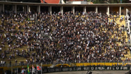 Stock Video Footage of Atletico  beats Corinthians 1:0 in football match