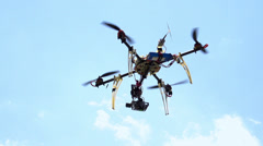 Quadcopter HD Stock Footage