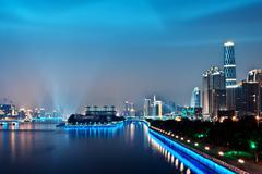guangzhou - stock photo