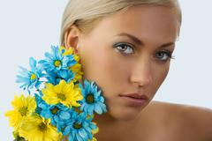 beauty portrait - stock photo