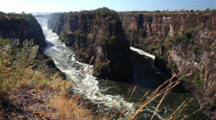 Zambezi River Gorge 02 HD Stock Footage