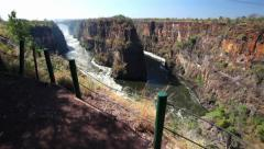 Zambezi River Gorge 03 HD Stock Footage
