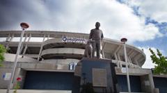 Qualcomm Stadium timelapse - stock footage