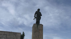 Che Guevara Mausoleum Time Lapse Cuba Stock Footage