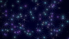 Starry Sky Stock Footage