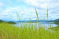 Kaeng krachan dam Stock Photos