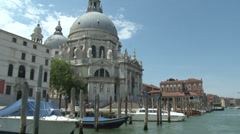 Venice, Grand Canal, Italy Stock Footage