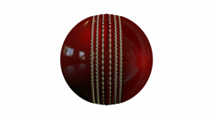 Cricket ball rotate Stock Footage