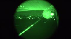 C-17 Night Cargo Drop 01 Stock Footage