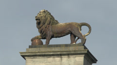 Butte du Lion, Waterloo battlefield, Belgium Stock Footage