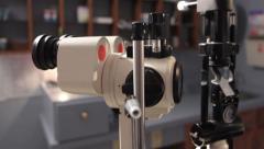 Eye Examination Room Stock Footage