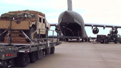 Loading C-17 01 Stock Footage