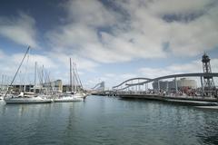 port vell - stock photo