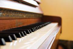An Old Piano - stock photo