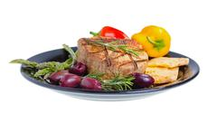 Atkins mediterranean diet. Stock Photos