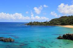 Waimea Bay, Hawaii - stock photo