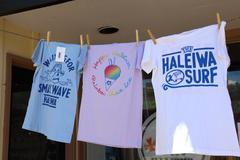 Stock Photo of North Shore Hawaii T-Shirts