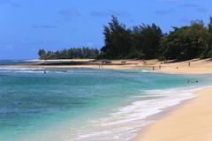 Hawaii north shore - stock photo