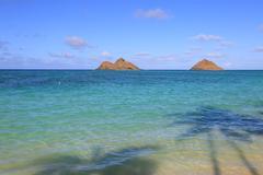 Lanikai Beach, Hawaii - stock photo