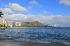 Stock Photo of Waikiki Beach Hawaii