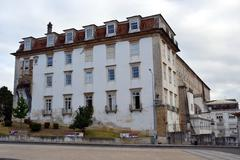 Old hospital of the university of coimbra Stock Photos
