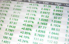 Pörssikurssit, ei reaaliajassa lainaa at pörssi Kuvituskuvat