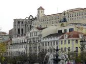 Stock Photo of city view of lisbon