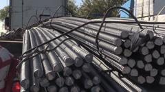 Construction, steel Stock Footage