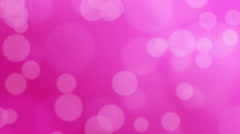 Loopable Abstract Background Pink Bokeh Cirlces Stock Footage