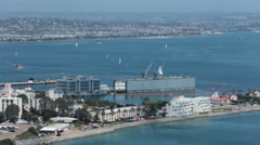 Naval Submarine Base Point Loma San Diego California HD 9179 Stock Footage