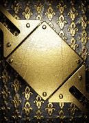 Golden background Stock Illustration