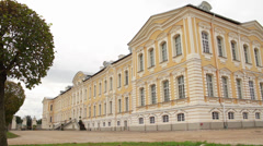 Baroque palace Stock Footage