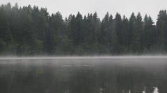 Stock Video Footage of misty waters