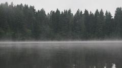 Misty waters Stock Footage