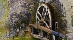 Old watermill in Veneto region, Italy. Stock Footage