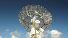 Dominion Radio Astrophysical Observatory Dish, Camera Dolly Stock Footage