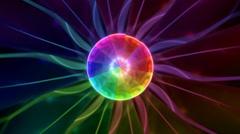 Kaleidoscope plasma pattern Stock Footage