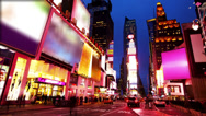 Stock Video Footage of Times Square